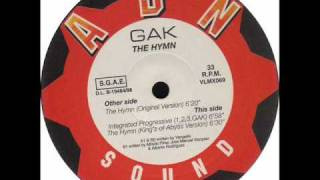 GAK   The Hymn Kings of Abyss Version
