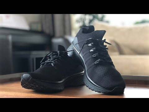 Xiaomi Mijia Sneakers 2 Black Unboxing