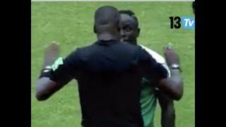 Eswatini vs Sen: Sadio Mané pique une grosse colère contre l'arbitre. Aliou Cissé le sort !