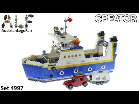 Vidéo LEGO Creator 4997 : Le ferry