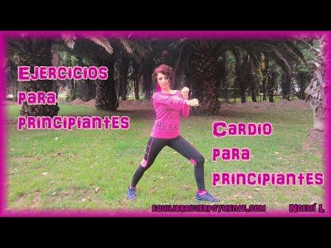 Ejercicios para principiantes cardio para bajar de peso