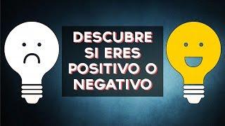Positivo o negativo? Descubre si eres una persona Positiva o Negativa con este divertido test! ↠↠ ¡No te olvides de suscribirte para no perderte ningún test!