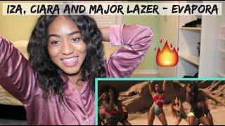 IZA, Ciara And Major Lazer   Evapora   REACTION