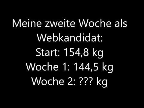 Die gesunde Abmagerung auf 7 kg