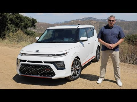 2020 Kia Soul GT Line Turbo Test Drive Video Review