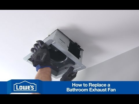 How To Install a Bath Exhaust Fan