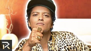 This Is How Bruno Mars Spends His Millions