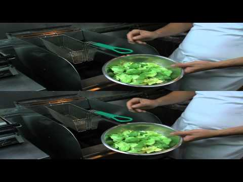 Chef Johnny Zone Presents: Flash-Fried Brussels Sprouts in 3D