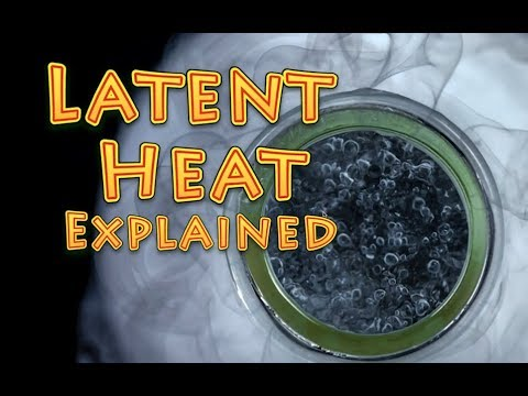 latent heat explained