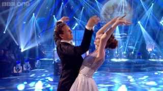 Sophie Ellis-Bextor & Brendan Waltz to 'Moon River' - Strictly Come Dancing 2013 Week 1- BBC One