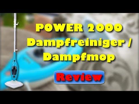 POWER 2000 Dampfreiniger Dampfmop 10 in 1 Dampfreiniger