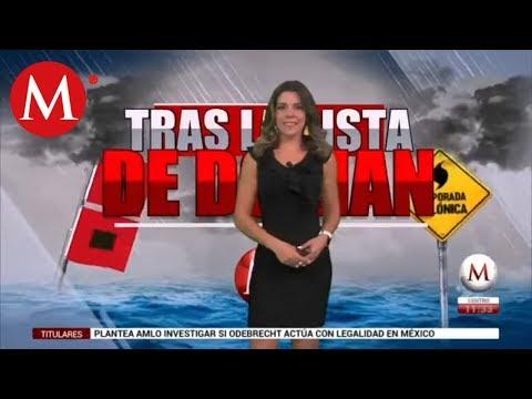 El clima para hoy 29 de agosto, con Marilú Kaufman