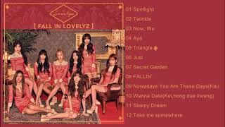 러블리즈(Lovelyz) Fall in Lovelyz (ALBUM EDITED)