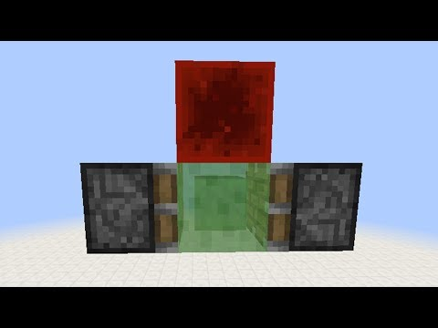 Simplest Flying Machine (AFK / Semi-Automatic) Minecraft Project