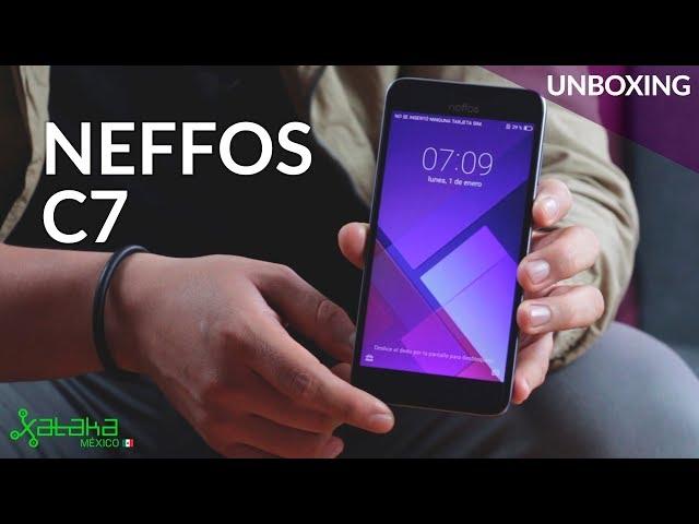 Neffos C7, UNBOXING: la apuesta de TP-Link por la gama de entrada