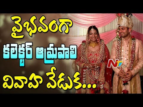 Warangal Collector Amrapali & Sameer Sharma Grand Wedding in Kashmir