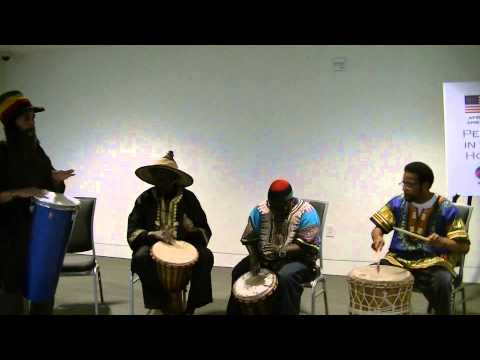 Nigerian Welcome Drum Song -- Peace in the Hood