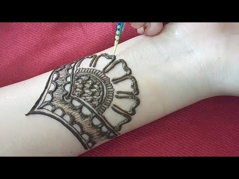 Download Unique Easy Arabic Mehndi Design For Hands Henna Design