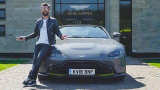 Aston Martin V8 Vantage 2018 - dabar