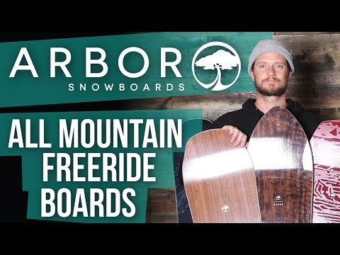 2018 Arbor All Mountain Freeride Snowboards – Overview – The-House.com
