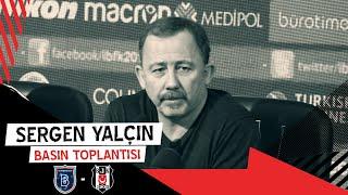 M. Başakşehir Maçı Sonrası Teknik Direktörümüz Sergen Yalçın'ın Basın Toplantısı