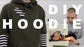 DIY HOODIE | NEW CLOTHING ALTERATION SERIES