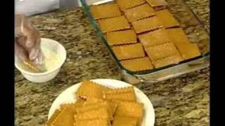 حلويات قالب البسكويت بالشوكولاتة من مطبخ هني وعافية