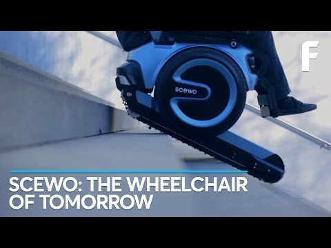 This Futuristic Wheelchair Can Go Up Goddamn Stairs