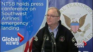 NTSB: '1 Fatality' on Southwest flight that made emergency landing in Philadelphia