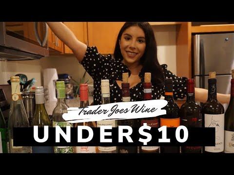 BEST WINE AT TRADER JOES UNDER $10
