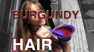 NO BLEACH BURGUNDY HAIR--arctic Fox