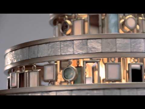 Video for Dolcetti Silver Seven-Light Pendant