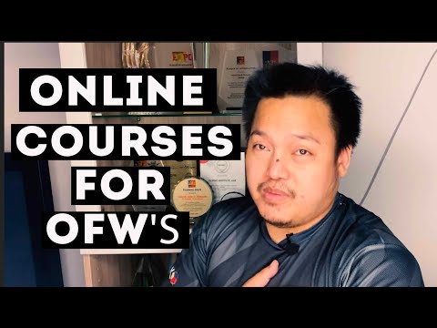 ONLINE COURSES FOR OFW'S AND EXPATS WITH ATTESTED CERTIFICATES