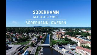 Safe approach to Söderhamn city port, Sweden