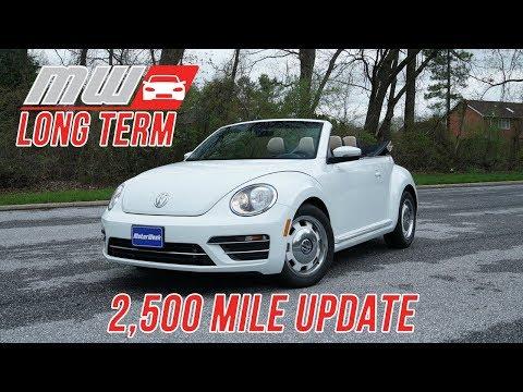 2018 Volkswagen Beetle Convertible | Long Term Update (2500 miles)