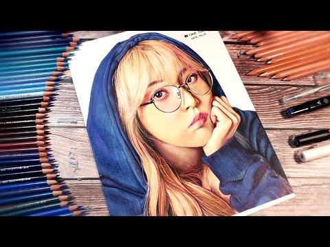 Drawing mamamoo moonbyul (마마무 그림-문별)   by CanoDrawing