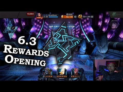 Double 6-Star Opening + Cavs! - Act 6.3 Rewards Opening | Marvel Contest of Champion