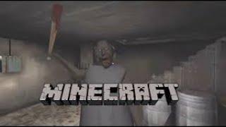 HORROR ! | Granny in minecraft ???!?!?