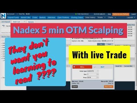 Nadex 5 Minute Binary Options strategy Scalp 02