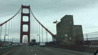 США | Golden Gate Bridge | Взлёт и посадка самолетов