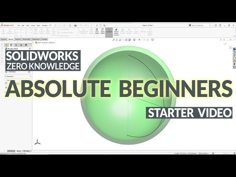 Ultimate SolidWorks Tutorial for Absolute Beginners- Step-By-Step