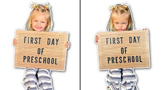 Her FIRST DAY of Preschool! Did She Like It?