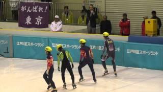 東京国体スケートショートトラック少年男子500M決勝A2013.1.28