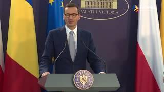 Mateusz Morawiecki: România este un partener foarte bun pentru investitorii din Polonia