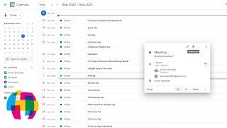 Google Calendar - Delete Multiple Events At Once