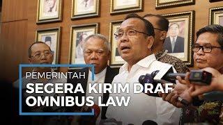 Pratikno Sebut Draf Omnibus Law akan Segera Dikirim kepada DPR