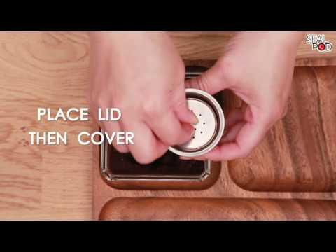 Pack cápsula metal para Dolce Gusto con 100 tampas Sealpod