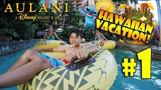WE'RE GOING TO HAWAII!! Disney's Aulani Resort Villa Room Tour! #1