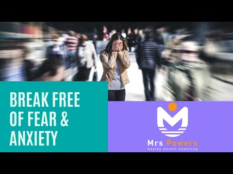 Banish fear and anxiety