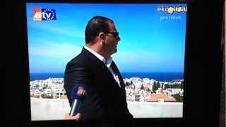 preview picture of video 'Atv yayını Orhun Saraçoğlu KKTC inşaat sektörü ,Atv KIBRIS PROGRAM'